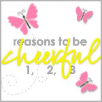 Reasons to be cheerful – week 9
