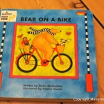 Matilda's book reviews – Bear on a bike