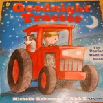Matilda's book reviews – Goodnight tractor and Ladybird books giveaway