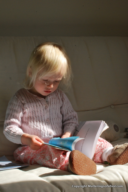 Matilda reading
