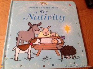 Usbourne touchy feely nativity