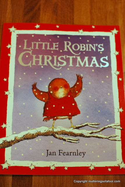 Little Robins christmas cover