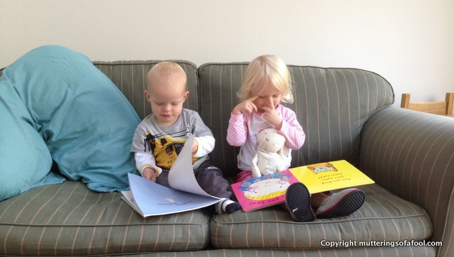 Matilda and Henry reading