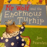 Matilda's book reviews – Mr Wolf and the enormous turnip