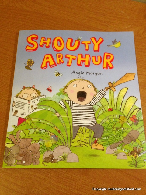 Shouty Arthur cover