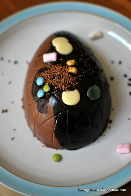 Henrys homemade easter egg
