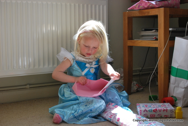 Matilda in Princess dress