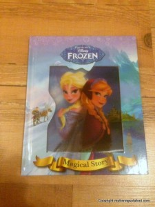 Frozen Disney book