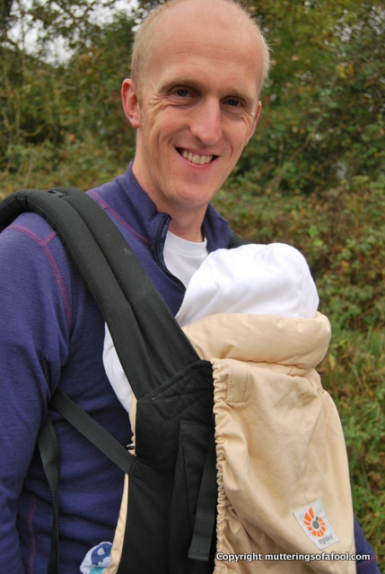 Walking with an Ergobaby