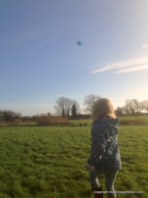 Matilda kite flying