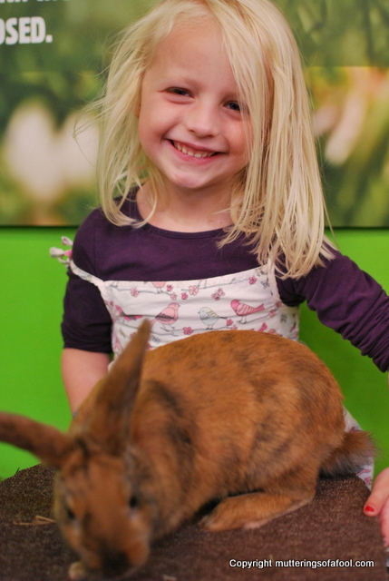 Matilda with a Rabbit