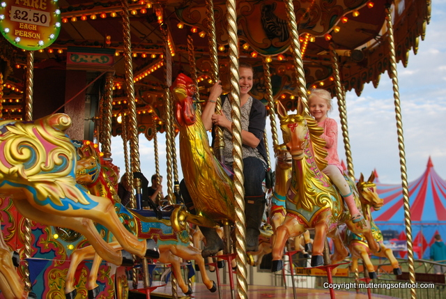 Carousel at CarFest south