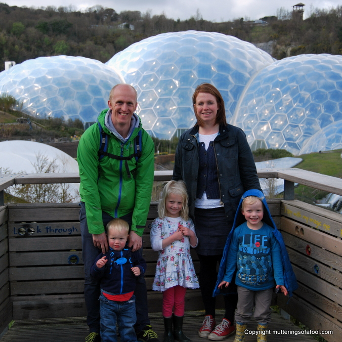 Eden project family photo