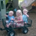 Four go glamping